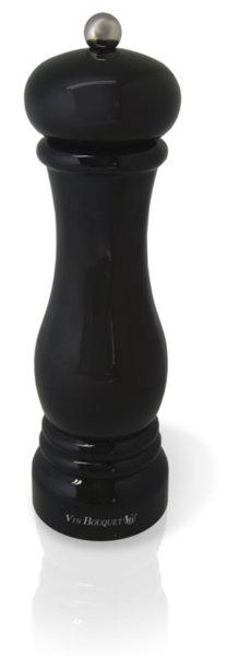 Vin Bouquet Ръчна мелничка за сол или пипер - черен лак